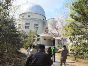 まいまい京都さんと共催の京大花山天文台らくらくコース